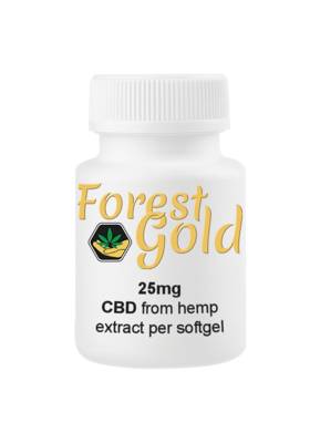 Forest Gold 300 CBD Softgels