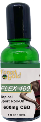 Forest Gold Flex 400 Hemp-Derived Roll-On