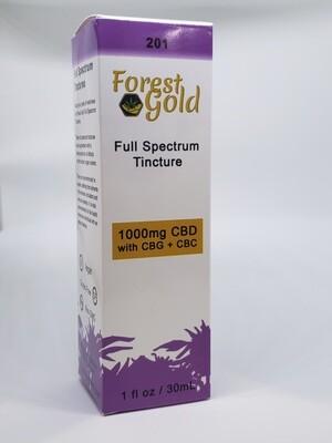 Forest Gold 201 CBD Full Spectrum Tincture
