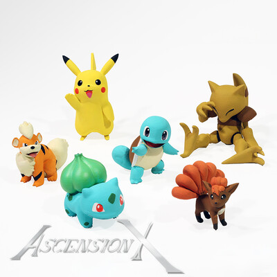 Figurines Pokémon (Fan Art)
