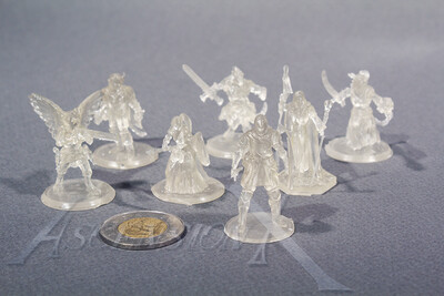 10 figurines de jeux de table