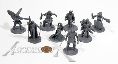 10 figurines pour jeux de table