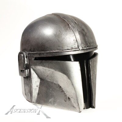 Casque mandalorien inspiré de la série The Mandalorian (Fan Art)