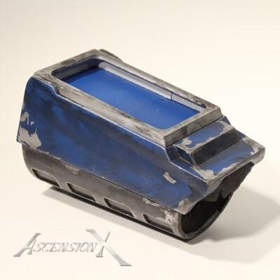 Bracelet mandalorien avec porte cellulaire intégré (Fan Art)
