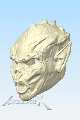 Fichier numérique du demi-masque Yuuzhan Vong (Fan Art)