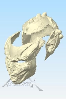 Fichier numérique du masque complet Yuuzhan Vong (Fan Art)