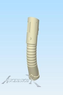 Fichier numérique d'un sabre laser courbé (1 main)