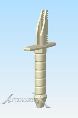 Fichier numérique d'une vibroépée (1 main)