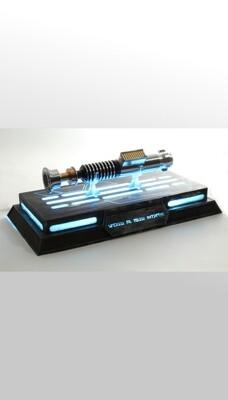 Socle pour sabre laser et blaster rétroéclairé par DEL