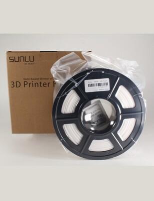 PLA+ Sunlu 1.75mm filament - BLANC