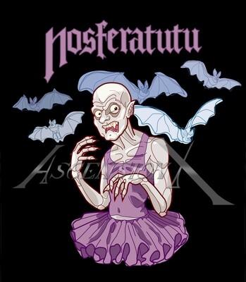 T-shirt Nosferatutu
