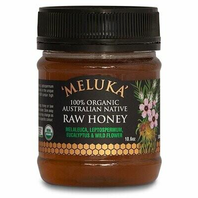 Organic Meluka Raw Honey