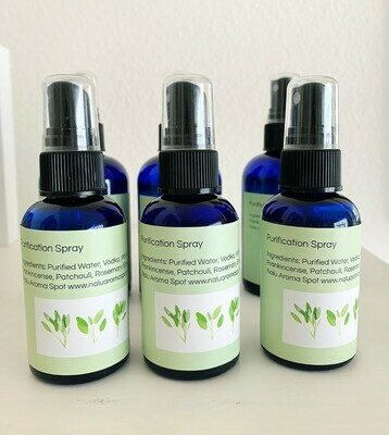 Aroma Spray, Purification Spray 4oz