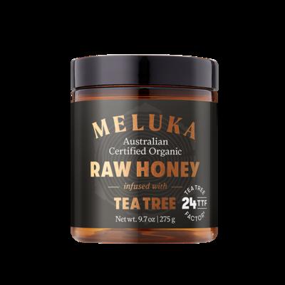 Organic Meluka Honey Infused with Tea Tree TTF24