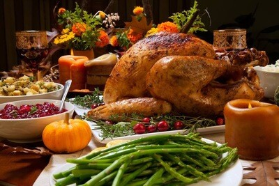 Fully Cooked Turkey with Stuffing & Gravy  14-16 lb, 20-22 lb or 26-28 lb
