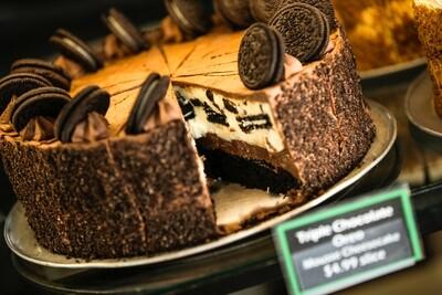 Oreo Mousse Cheese Cake 12