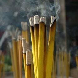 "Nag Champa scented - 19"" JUMBO Sticks - Intense Incense  - Long Lasting, Slow Burn - Made Fresh to Order"