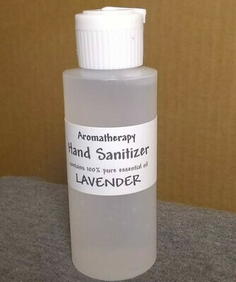 Lavender - Aromatherapy Hand Sanitizer - 62% Alcohol - Made with Pure Essential Oils - 2 ounce