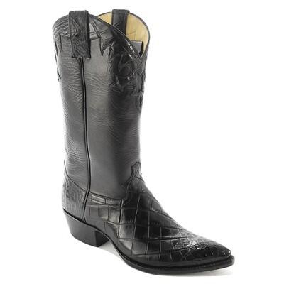 Elegante Nile Crocodile Cowboy Boots