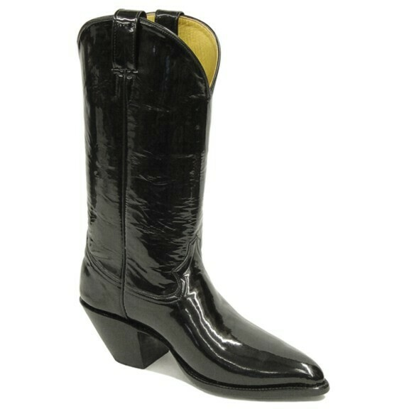 Patent Leather Cowboy Boots