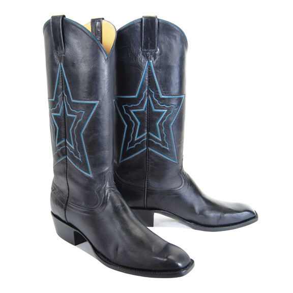 Neon Night Cowboy Boots