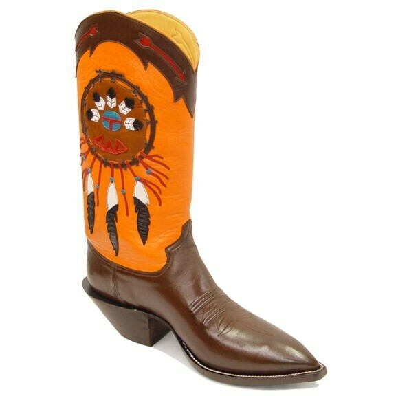 Native American Cowboy Boots