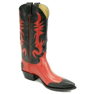 Relampago Rojo Cowboy Boots