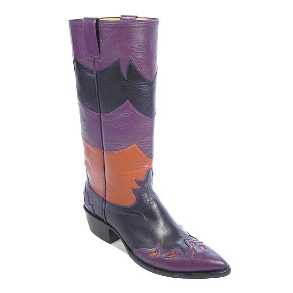 Purple Mountain Majesty Cowboy Boots