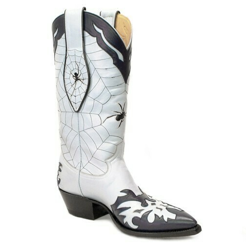 Black Widow Cowboy Boots