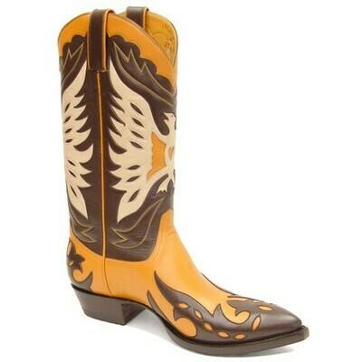 Golden Eagle Cowboy Boots