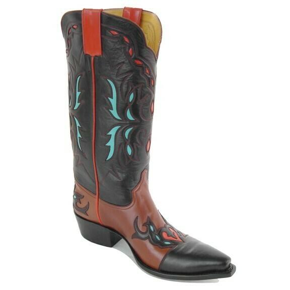 Gilded Leaf Cowboy Boots