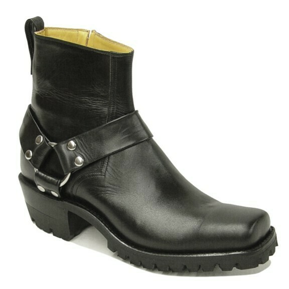 Motorcycle Harness Ankle Boots
