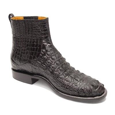Nile Crocodile Hornback Ankle Boots