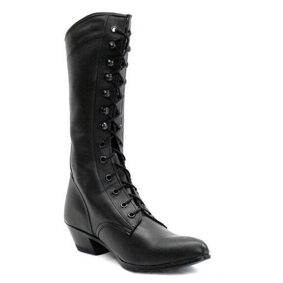 Victorian Packer Boots