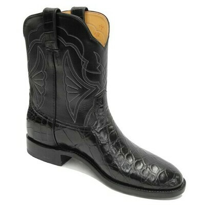 Smooth Nile Crocodile Roper Boots