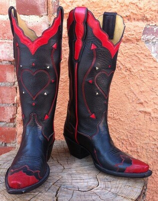 Shana's Giving Heart Cowboy Boots