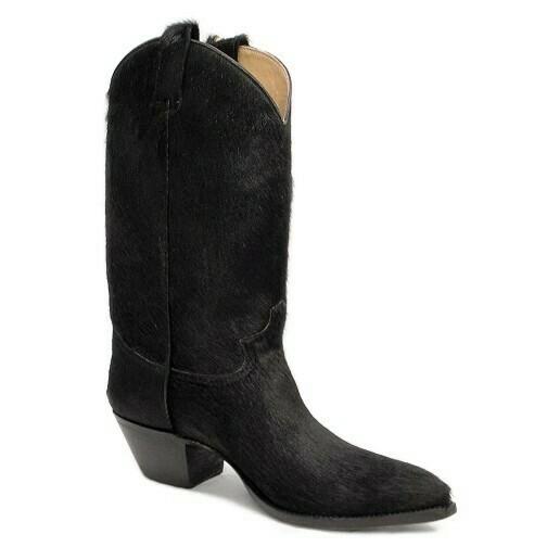 Angus Holstein Hair-On Cowboy Boots