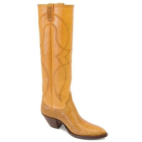 ZigZag Tall Cowboy Boots