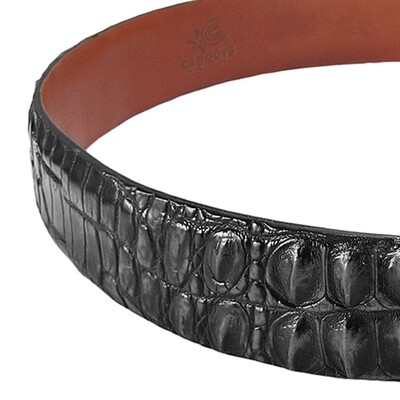Caiman Crocodile Belt