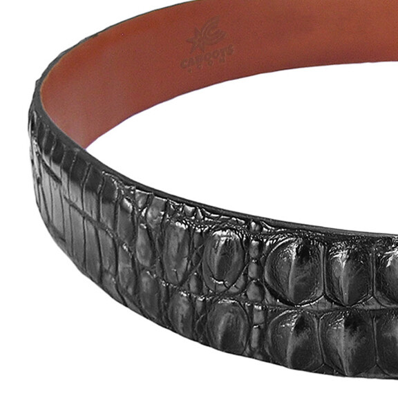 Hornback Nile Crocodile Belt