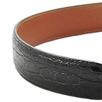 Smooth Nile Crocodile Belt