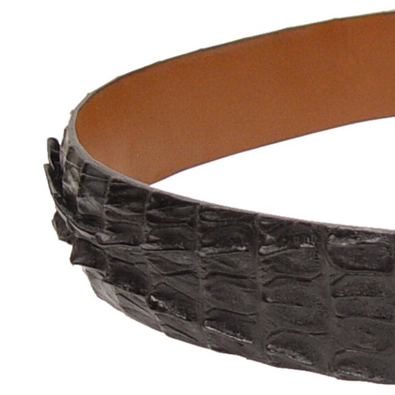 Caiman Crocodile Tail Belt