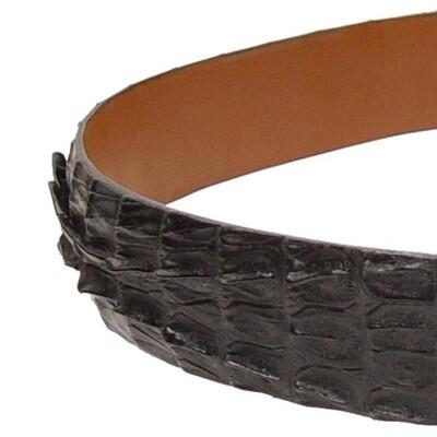 Caiman Crocodile Tail Belt