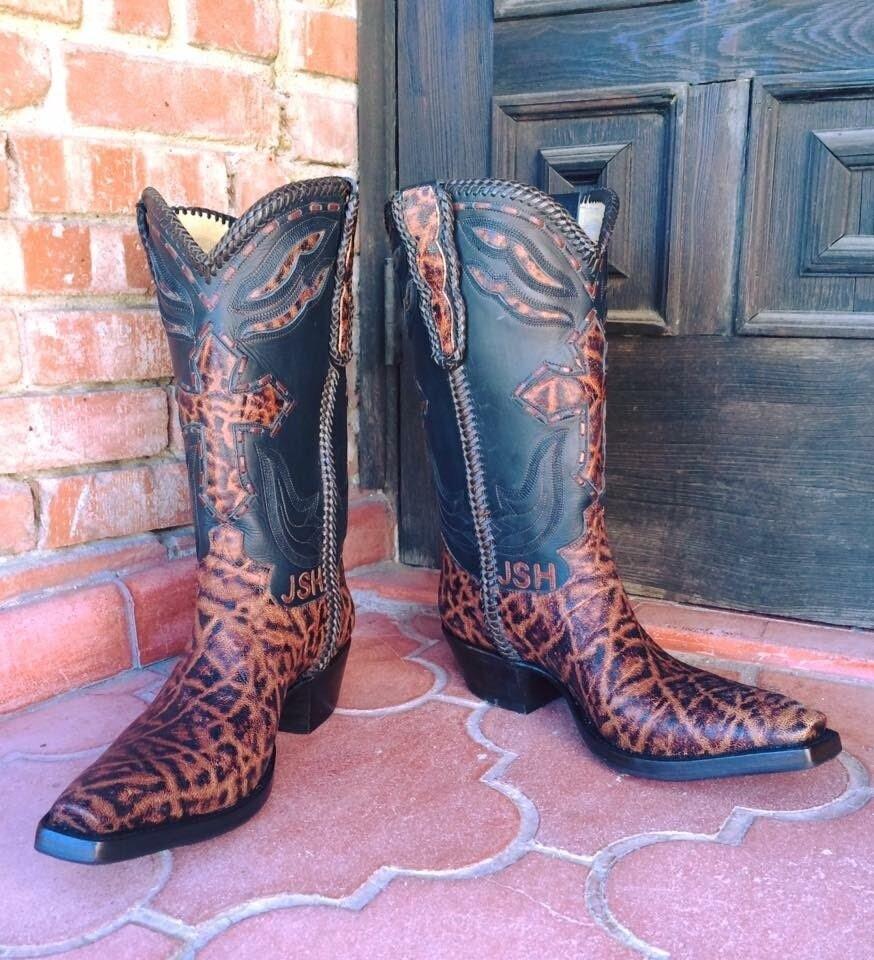 Southern Cross Elephant Cowboy Boots