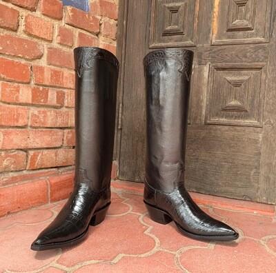 Clarita Nile Crocodile Cowboy Boots