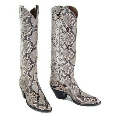 Python Top and Bottom Cowboy Boots