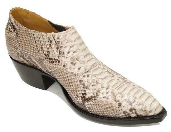Python Belly Shoe Boots