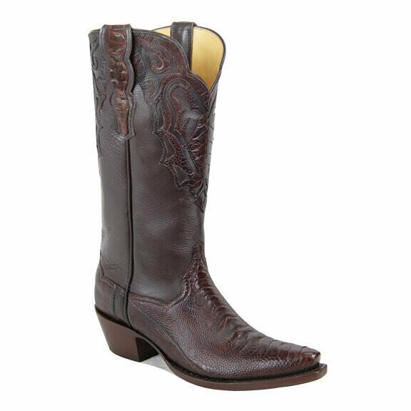Monte Carlo Ostrich Cowboy Boots