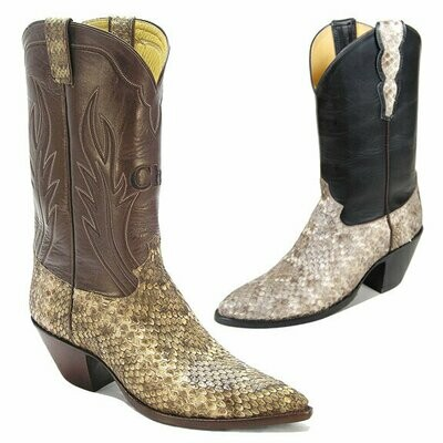 Rattlesnake Cowboy Boots