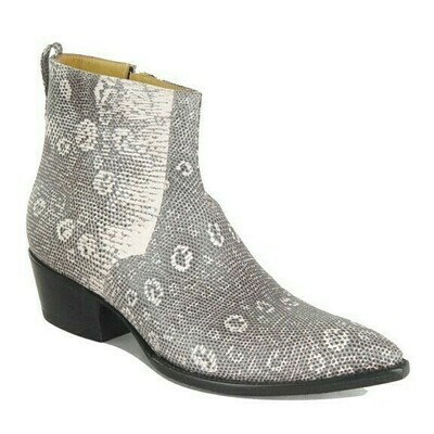 Ringtail Lizard Ankle Boots